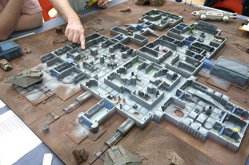 15mm SCI-FI Terrain Layout
