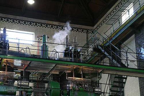 2007-03-18-095 London Vintage machinery Kempton Great Engine Triple compound pump