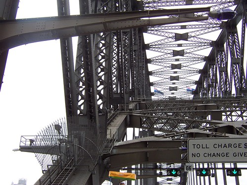 Sydney Harbour Bridge 18th of March 2007