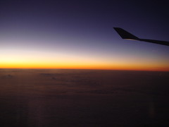 SunRise at 35,000 ft