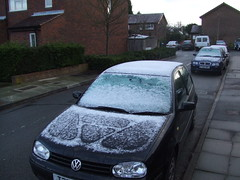 Snow this morning!