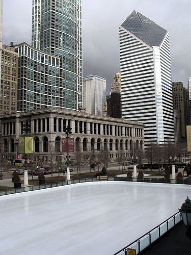 Empty Rink at Millenium Park