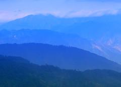 mountain blue (jobarracuda) Tags: blue mountain photoshop lumix philippines baguio bluemountain fz50 minesview panasoniclumix jobarracuda pinescity