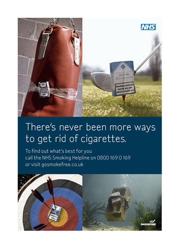 NHS anti-smoking poster