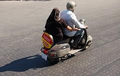 India XXXII (Veee Man) Tags: street people woman india man scooter nikond50 dehli