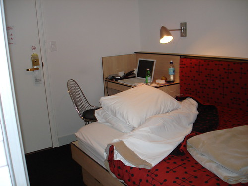 Pod Hotel Room Camping Euros Cardiff