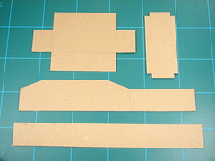 box parts cut out
