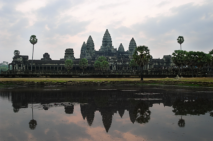 Angkor Vat at sunrise