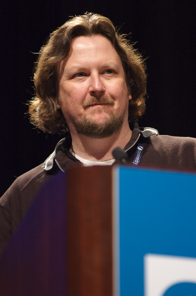 Matt Nunn Accepting Jolt Award for Visual Studio 2005 Team Edition for Database Professionals