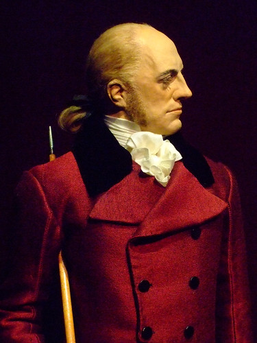 Historical Portrait Figure of Aaron Burr by artist-historian George Stuart (1)