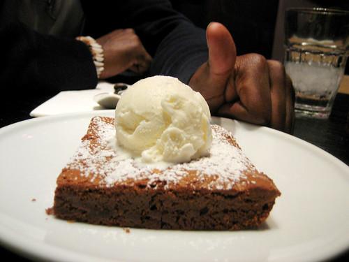 really big brownie