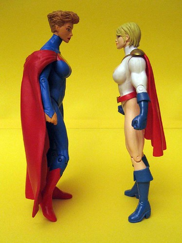 Elseworlds Supergirl and Powergirl