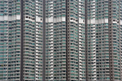 Flat in Tung Chung on Lantau Island (a n j a) Tags: building architecture skyscraper hongkong living apartments pattern apartment flat flats repetition apartmentbuilding repeat lantauisland tungchung regularity denselypopulated dichtbevolkt globalbackpackers