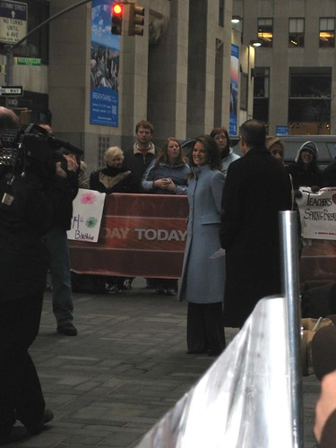 Meridith at the Today Show