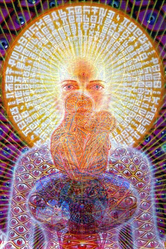 alex grey homage collage by you.