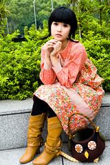 Akina (swanky) Tags: portrait people woman cute girl beautiful beauty face canon asian eos md model women asia pretty sweet femme taiwan babe belle taipei   tamron taiwanese 2007   30d   dcview  akina a16      1750mm   isawyoufirst   tamronspaf1750mmf28xrdiiildasphericalifmodela16   emiruemirue mtv mtv ak