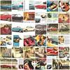 Peugeot 404 CC publicity mosaic