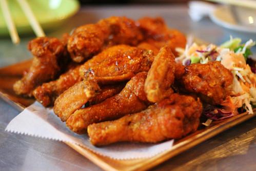 plate of chicken
