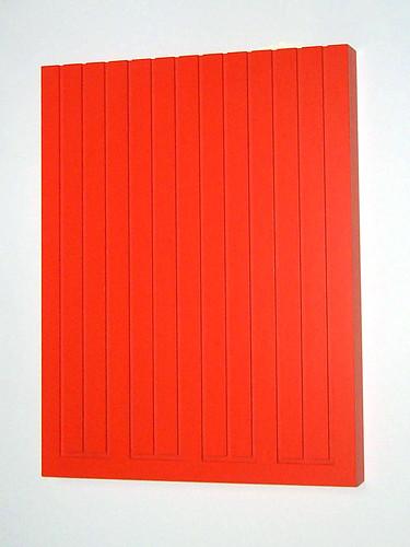 Donald Judd, untitled (Wood Block 6R)