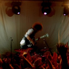 Wolfmother (sonofwalrus) Tags: music nikon guitar live rockroll coolpix universityofcanberra wolfmother e5900