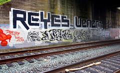 Reyes, Venem, Dzyer, Daver (funkandjazz) Tags: sanfrancisco california tmc graffiti msk dzyer reyes bmb daver venem