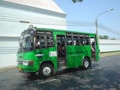 038.曼谷的小公車