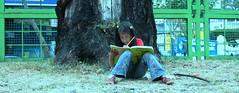 Juguemos a leer (vonKinder) Tags: mexico df leer kinder nia nio aprender ltytr1
