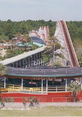 Miracle Strip Amusement Park, the Starliner coaster (stevesobczuk) Tags: seaside florida amusementpark panamacitybeach miraclestrip redneckriviera us98 frontbeachrd