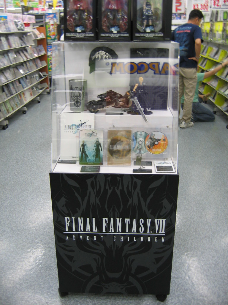 Yodobashi Camera: FFVII Advent Children