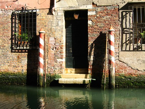 Entrance in Venice, Italy