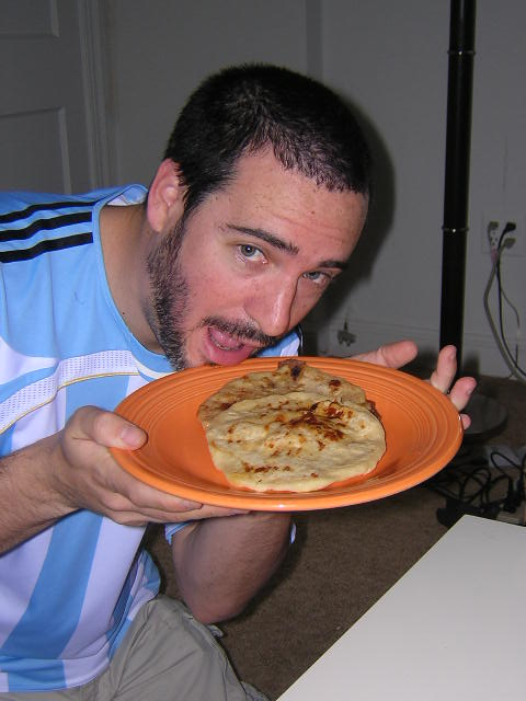 pupusas with Arjewtino