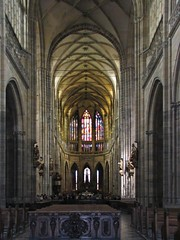 Chram Svateho Vita (George*50) Tags: travel church architecture europe prague cathedral gothic praha czechrepublic stvitus chramsvvita canons1is thebigone cesko 10faves superaplus aplusphoto