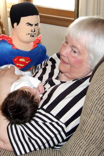 Superman, Jackson and Mamo