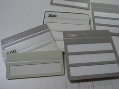cubicle signs for modular furniture of walls with ada numbers in braille (oldjohnny) Tags: signs window ada acrylic pin cubicle signage braille backs velcro tactile stanco cubiclesigns