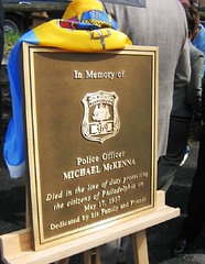 michael mckenna plaque