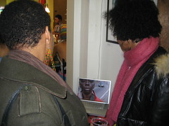 MORE FEAR: The Final Call Opening (Raquel Wilson) Tags: art photography gallery reception opening jamelshabazz akintolahanif dopeswan harrietsalterego morefear