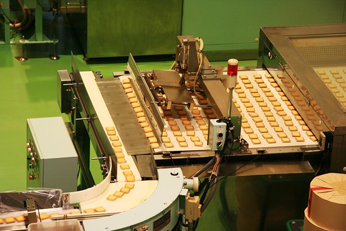 The Shiroi Koibito Production Line