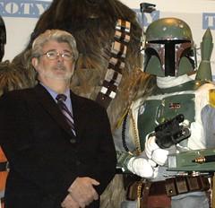 Never thought I'd meet George Lucas, the creator of Star Wars... (Darryl W. Moran Photography) Tags: ny rebel star george lucas empire stormtrooper 501st boba wars vader chewbacca legion leia c3po digitallife fett lfl carida bouschh