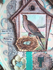 Spring collage #4 closeup (bewitchedmagic) Tags: collage spring nest dove birdhouse eggs alteredart