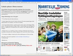 Läs Norrtelje Tidning gratis på webben