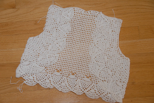 Crochet Bolero Out of Yarn