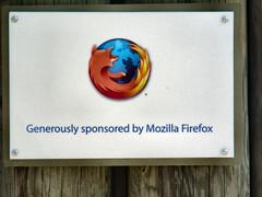 Firefox, sponsored by Firefox