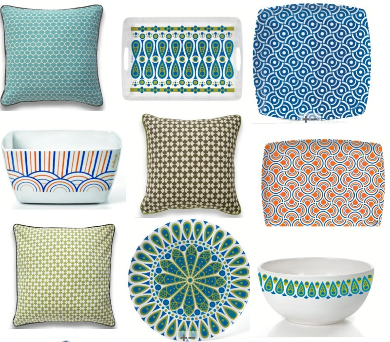 Jonathan Adler *New* Melamine + Pillows