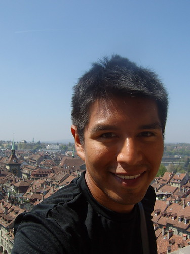 Münster Cathedral - me, view from the tower 2