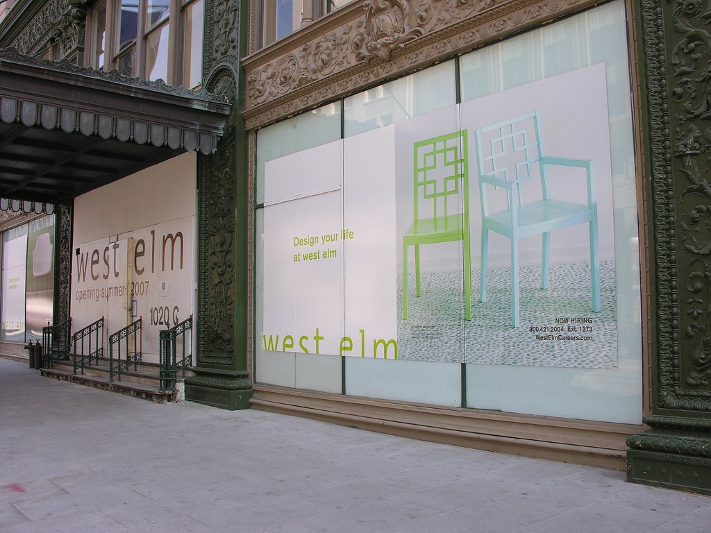 West Elm Retail Construction in Penn Quarter