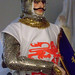Historical Portrait Figure of Richard the Lionheart by artist-historian George Stuart receives meticulous attention to detail
