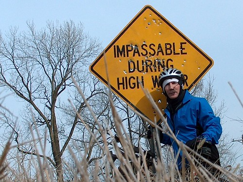 Me at the Allenville bridge