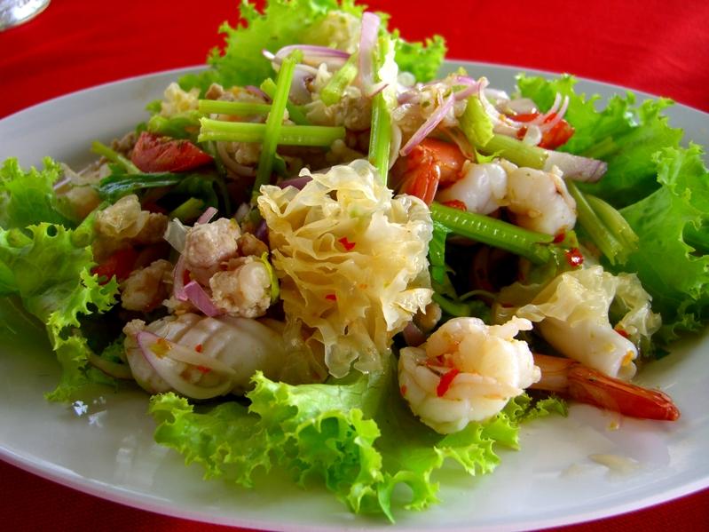 White Mushroom Salad