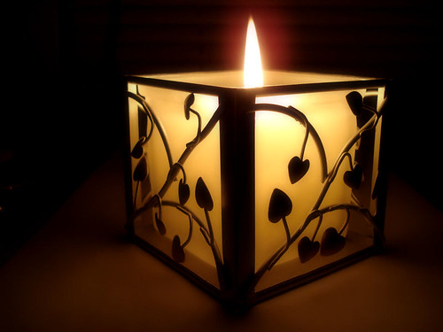 Heart Candle by Bob.Fornal.