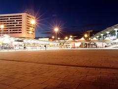 Schipol Airport (cheekygeeza) Tags: light holland building netherlands night plane airport shiny long exposure pavement aviation shutter schipol starry